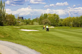 Golf course — Stock Photo