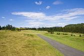 Toru piękne pole golfowe — Zdjęcie stockowe