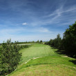 Fairway of a beautiful golf course - Lizenzfreies Foto
