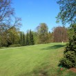 Fairway of beautiful golf course — Zdjęcie stockowe #7931082