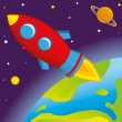 Royalty-Free Stock Imagen vectorial: Rocket