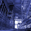 Stock Photo: Scaffolding On An industrial construction Site