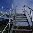 Ladders On An industrial construction Site — Stock Photo