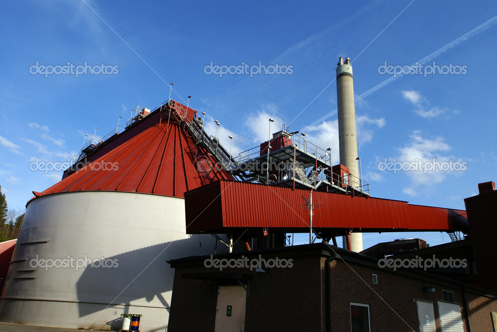 Bio fuel power plant           — Stock Photo #6923763
