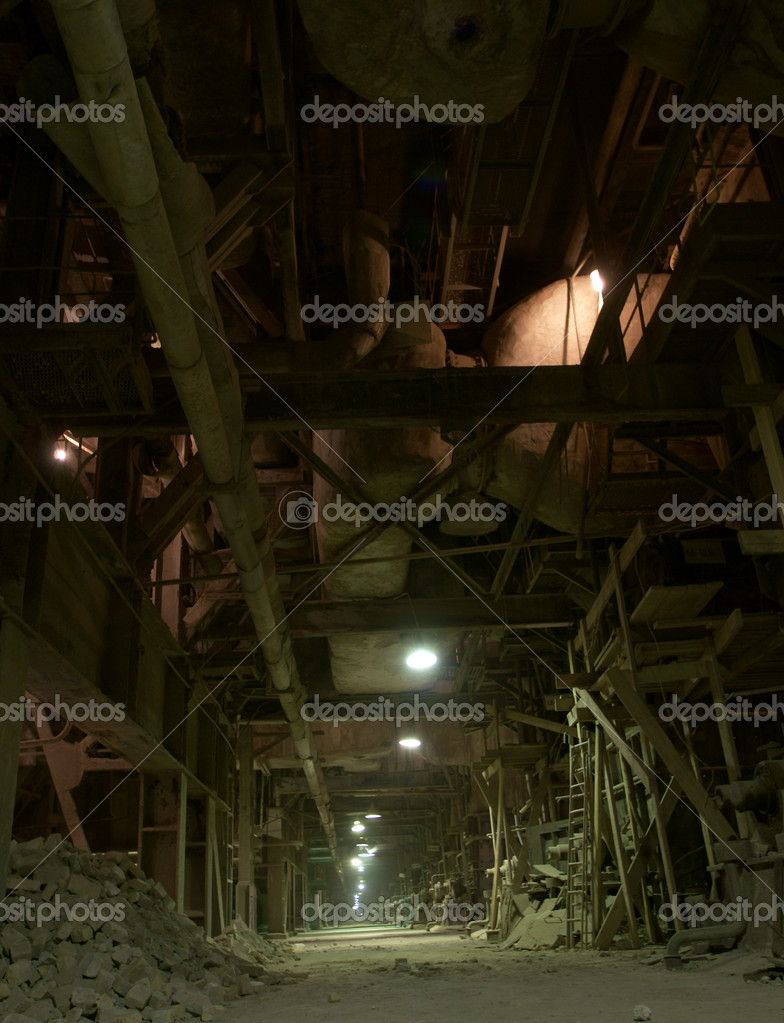 Old abandoned factory                Stock Photo #6932527