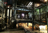 Old abandoned factory — Stockfoto