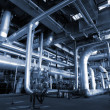 Industry pipelines at factory — Stock Photo #7489135