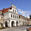 Sandomierz at daylight - Stock Photo