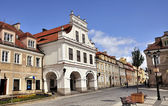 Sandomierz at daylight — Stock Photo