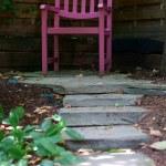 Krzesło w ogrodzie — Stock Photo #7135869
