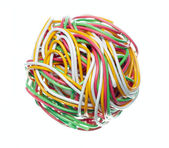 Telephone cable 3 — Stock Photo
