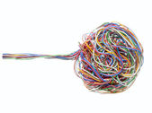 Telephone cable 1 — Stock Photo