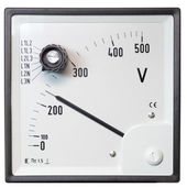 Voltmeter — Stock Photo
