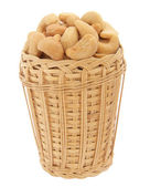 Salted nuts — Stock Photo