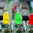 Stock Photo: Circuit-board