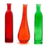Tre bottiglie — Foto Stock