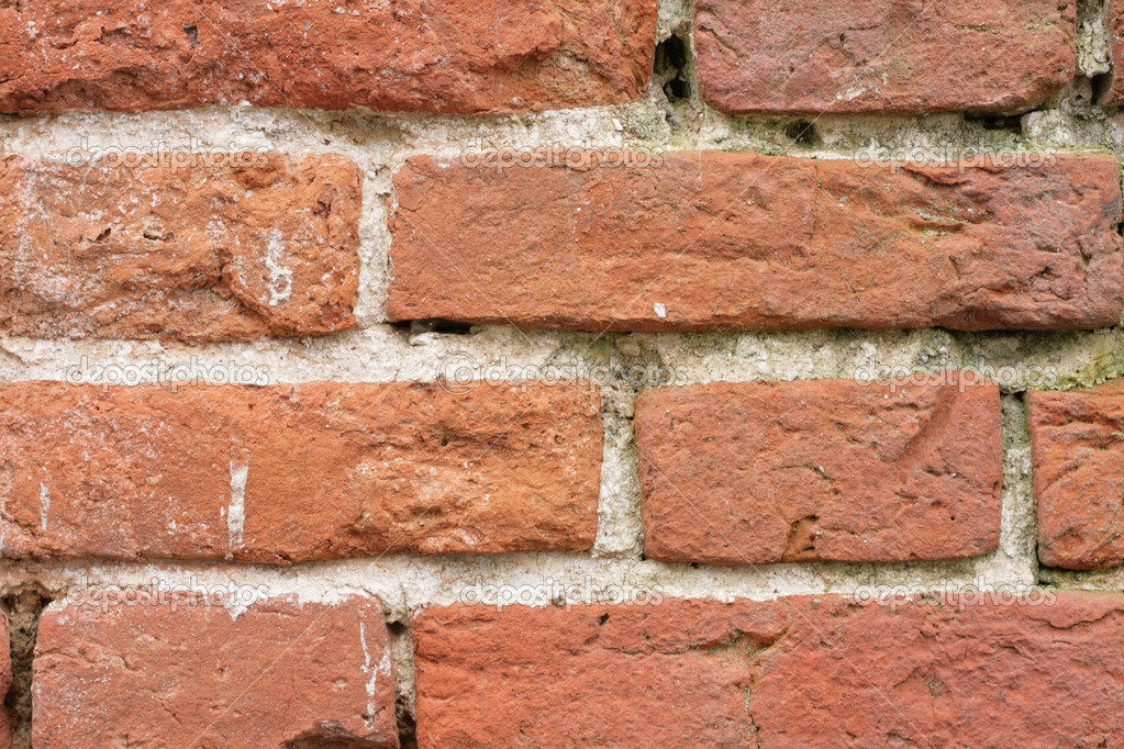 Very old brick wall — Stock Photo #6904085