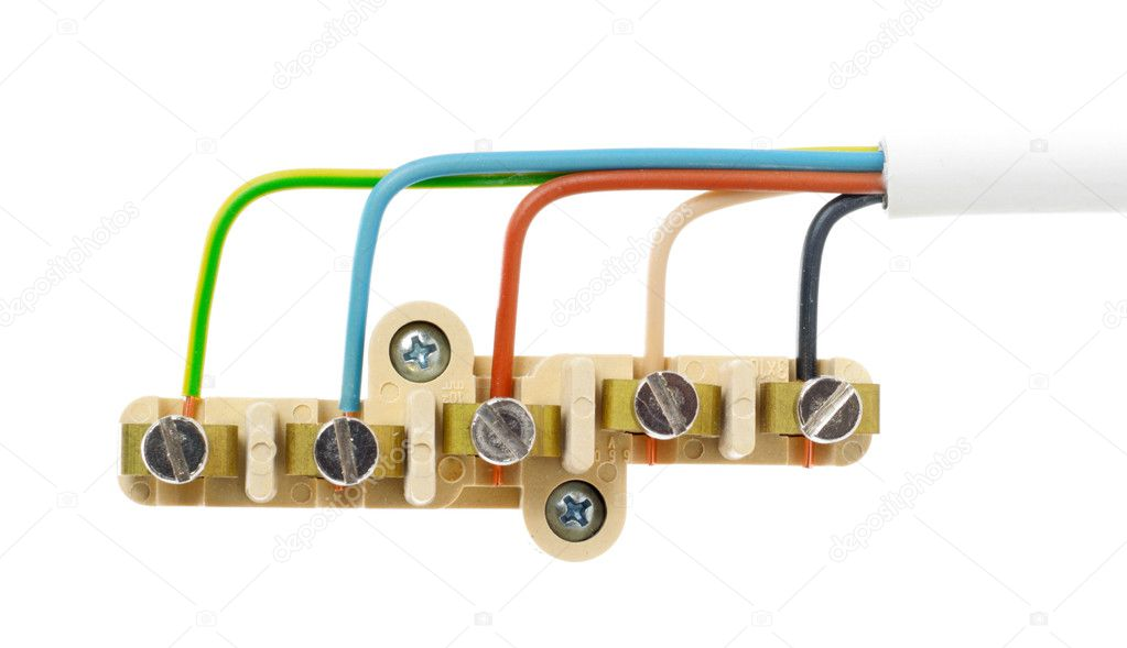 Power cable with connector — Stock Photo #6904095