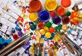 Tubes of paint — Foto de Stock