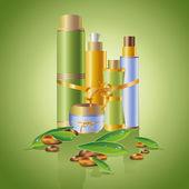 Skin care cosmetics — Stock Vector