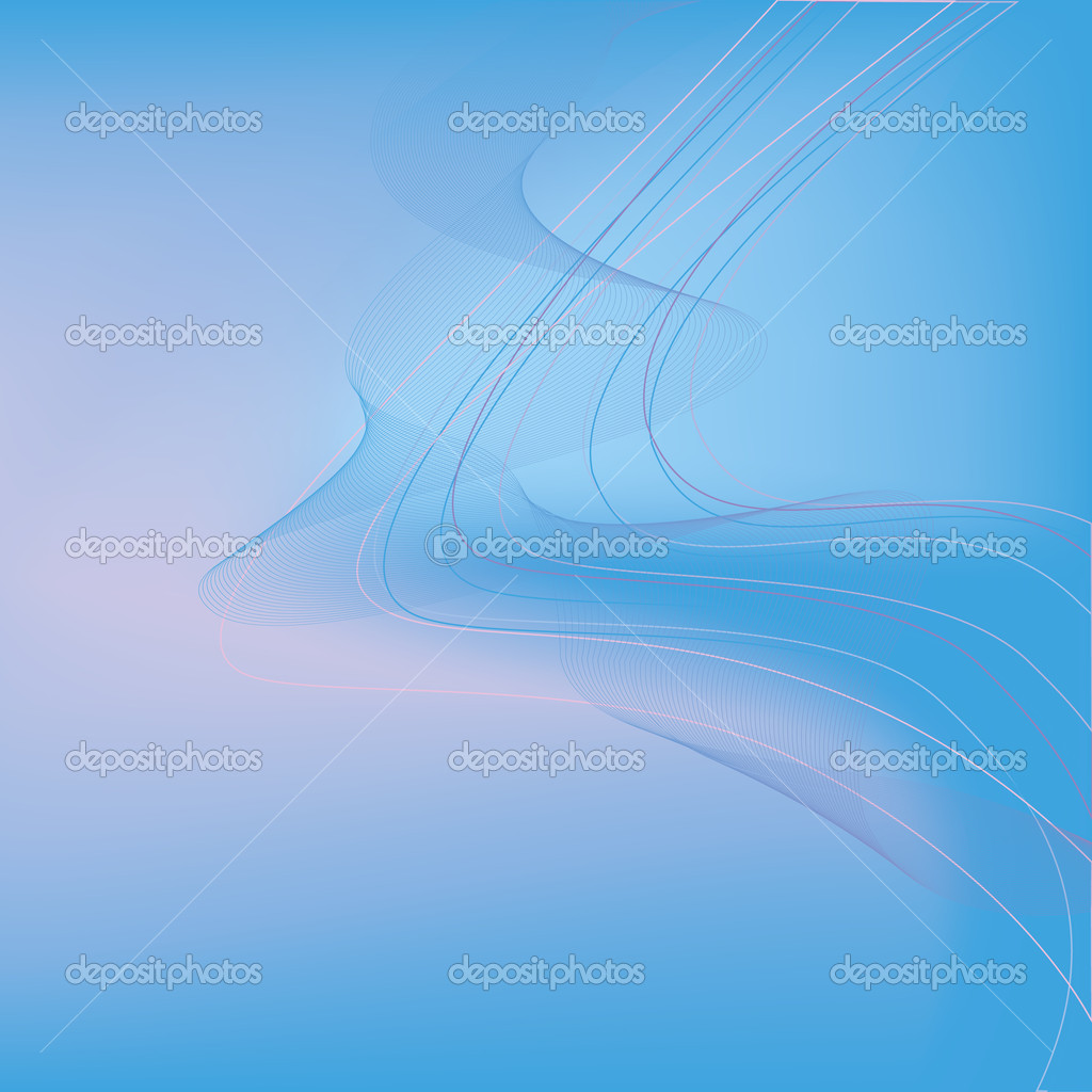 Abstract  light background vector  with colorful lines  blue / pink — Stock Vector #7564428