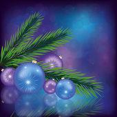 Fundo comemorativo de natal. eps 10 — Vetor de Stock