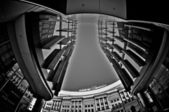 Fisheye Architecture_12 — Stock Photo