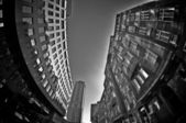 Fisheye Architecture_07 — Stock Photo