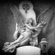 Angel_05_Black_And_White — Stock Photo