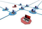 ネットワークの概念 — ストック写真