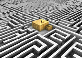 The maze of real estate — Stock Photo