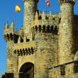 Royalty-Free Stock Photo: Templar castle ponferrada