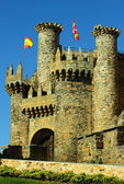 Templar castle ponferrada — Stock Photo