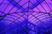 Interne struktur der crystal palace madrid — Stockfoto