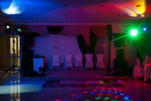Disco in hall — Stock Photo