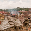 Shiva place, pashupatinath — Stock Photo