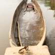 Boat trip on the wild river — Stock Photo