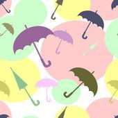 Wielokolorowe parasole — Wektor stockowy