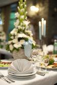 Tisch im restaurant — Stockfoto