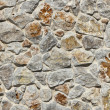 Stacked Stone Wall background — Stock Photo