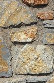 Stenen muur achtergrond — Stockfoto