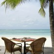 Table for two by the ocean — Stock Photo #7669507