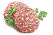 Hamburger raw — Stock Photo