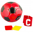 Accesory for the soccer play — Stock Photo