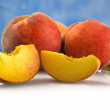 Fresh peach fruits — Stock Photo #7204369