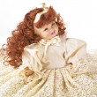 Porcelain doll — Stock Photo