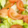 Greens salad and tomatoes — Stock Photo #7206440