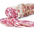 Salami sliced — Stock Photo #7206751