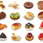 Varius cupcake — Stock Photo