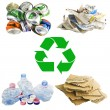 Royalty-Free Stock Photo: Recycle concept collage